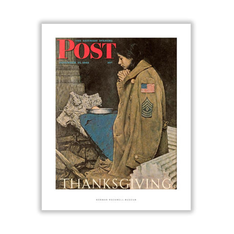 Refugee Thanksgiving Matted Print
