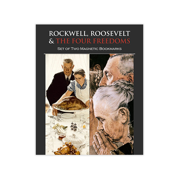 Norman Rockwell's Freedom Magnet Bookmark Set