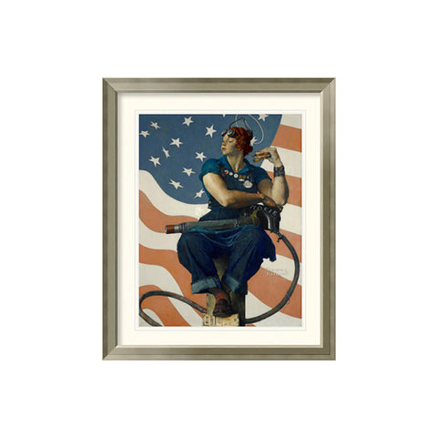Rosie the Riveter Framed Print