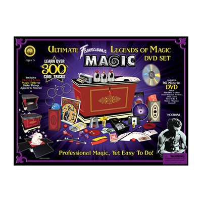 Legends of Magic Set with DVD