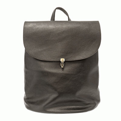 Metallic Black Backpack