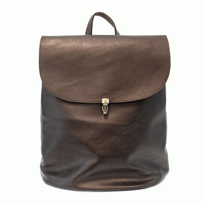 Metallic Bronze Backpack