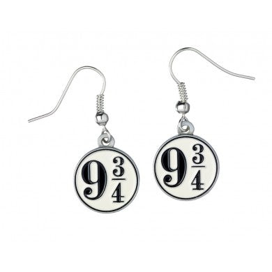 Harry Potter Platform 9 3/4 Earrings