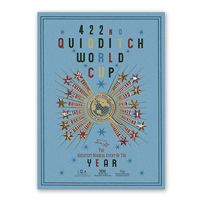 Harry Potter - The 422nd Quidditch World Cup Poster