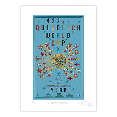 Harry Potter - The 422nd Quidditch World Cup Limited Edition Print