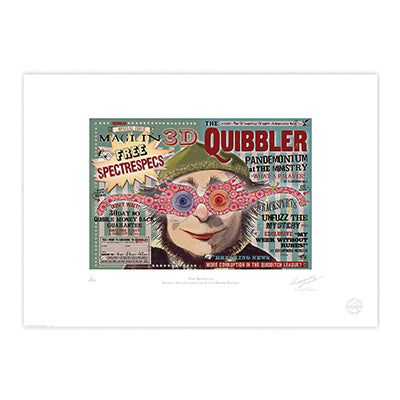 Harry Potter - The Quibbler Spectrespecs Limited Edition Print