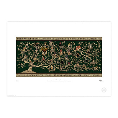 Black Family Tree Limited Edition Print