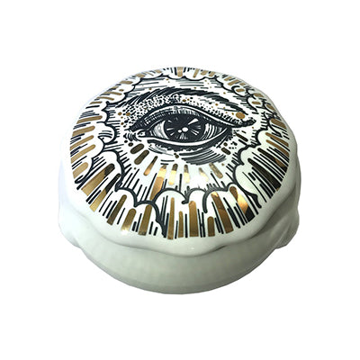 Mystic Eye Ceramic Box