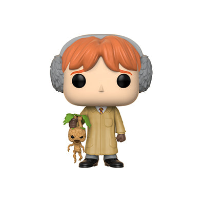 POP! Ron with Mandrake Root Action Figure