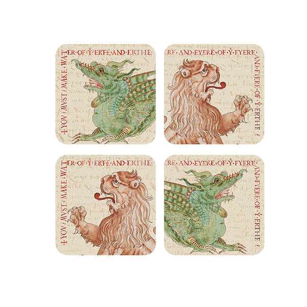 Ripley Scroll Coaster - Set of 4