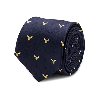 Harry Potter Golden Snitch Tie