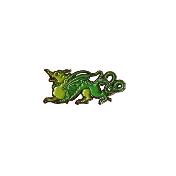 Ripley Scroll Dragon Enamel Pin