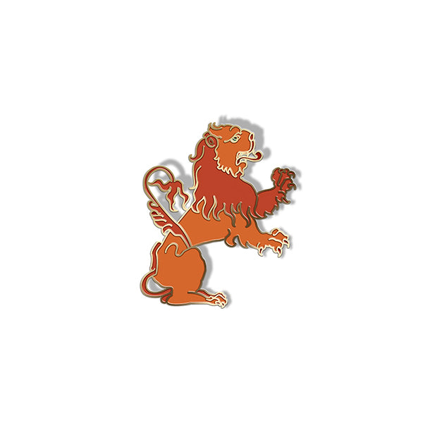 Ripley Scroll Lion Enamel Pin