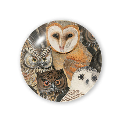 Parliament of Owls Paperweight