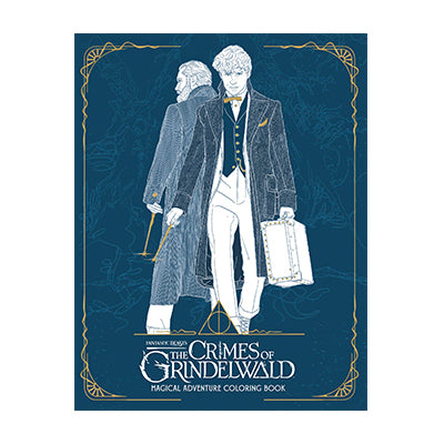 Crimes of Grindelwald Coloring Book