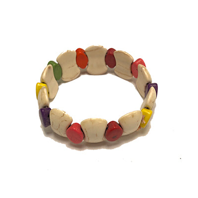 Multicolored New Style Howlite Bracelet