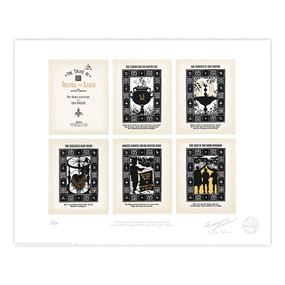 Pages of Beetle the Bard Limited Edition Print