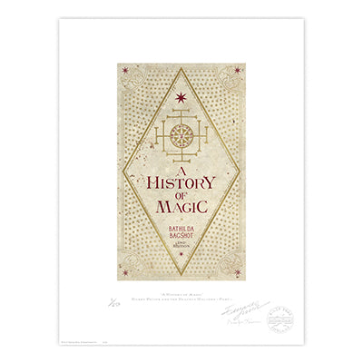 A History of Magic Book Cover Limited Edition Print