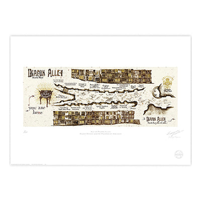 Diagon Alley Limited Edition Print