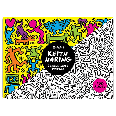 Keith Haring 2 in 1 Double Sided Puzzle