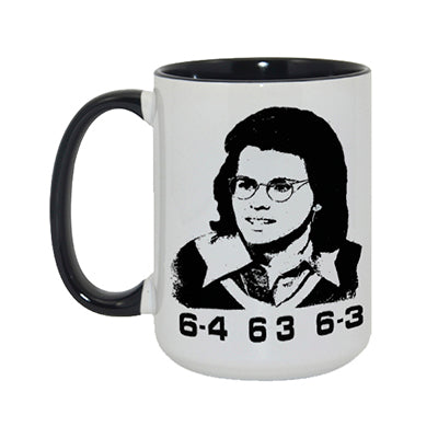 Billie Jean King Mug