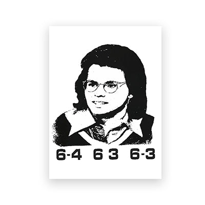 Billie Jean King Magnet