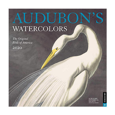 Audubon Watercolors 2020 Wall Calendar