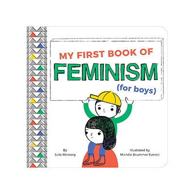 My First Book of Feminism for Boys