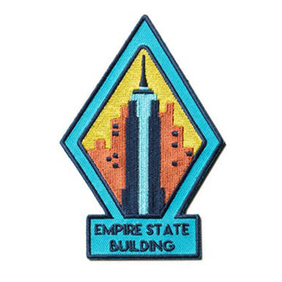 Empire State Building Embroidered Magnet