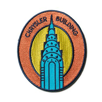 Chrysler Building Embroidered Magnet