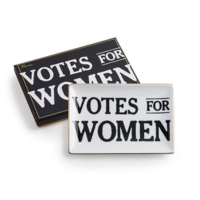Votes for Women Quote Tray