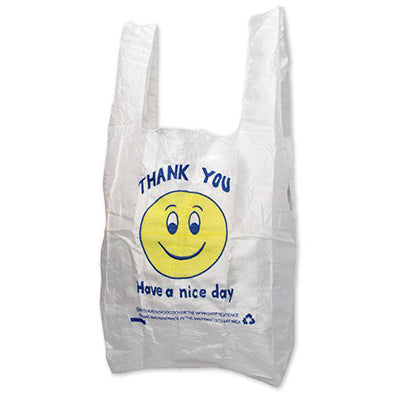 Smiley Face Thank You Tote