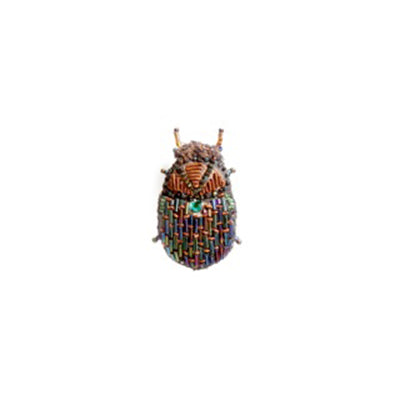 Scarab Beetle Brooch Pin