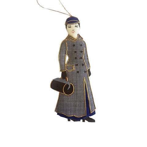 Nellie Bly Ornament