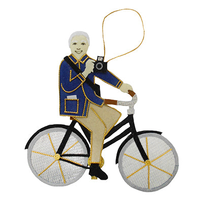 Bill Cunningham Ornament