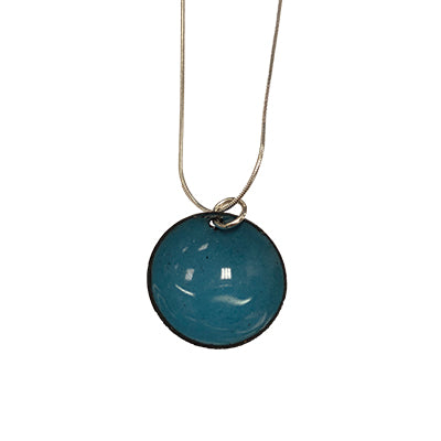 Sea Blueberry Domed Necklace