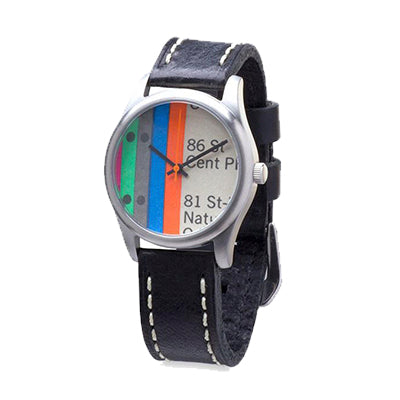Vignelli Map Watch