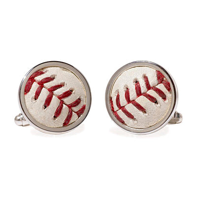 Mets Baseball Cufflinks