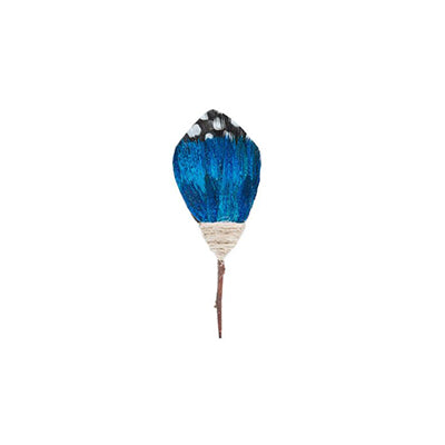 Twilight Ginea Peacock Feather Pin