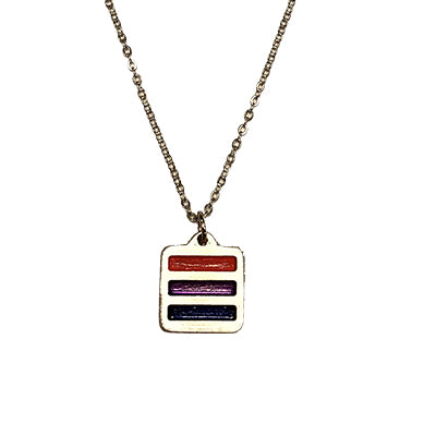 BiSexual Pride Necklace