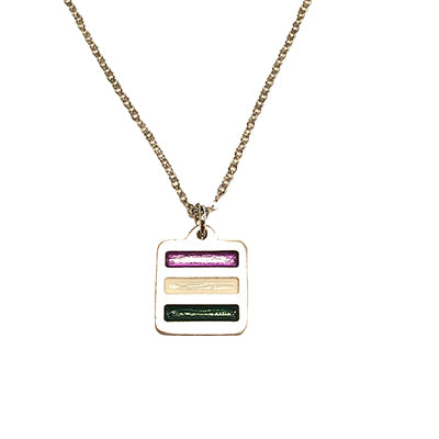 Genderqueer Pride Necklace