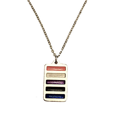 Gender Fluid Pride Necklace