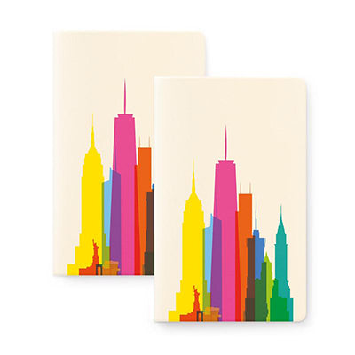 New York Skyline Notebook