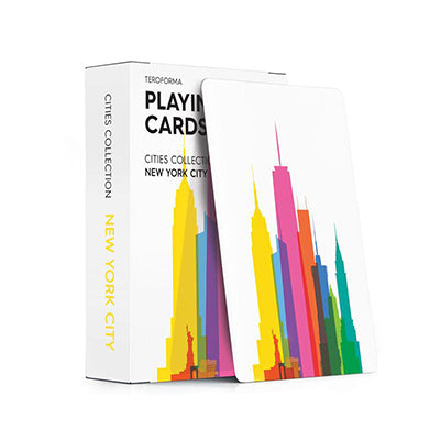 New York Skyline Playing Cards