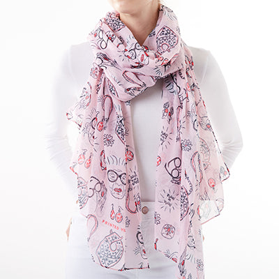 More is More Iris Apfel Scarf