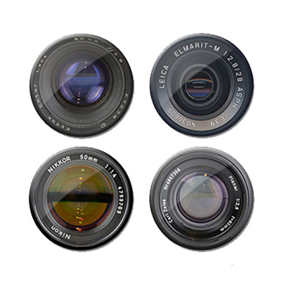 Camera Lens Magnet Set