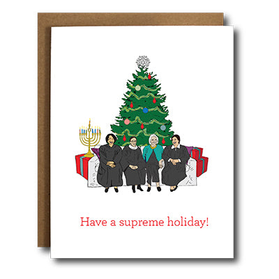 Supreme Holiday Box Cards