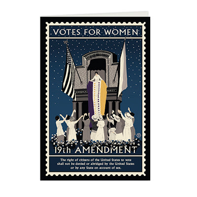 Ratification Votes for Women Notecard