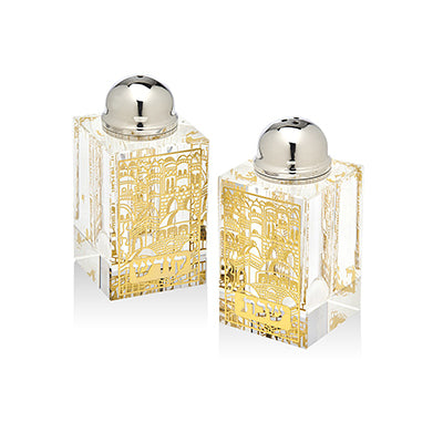 Sabbath Gold Salt and Pepper Set