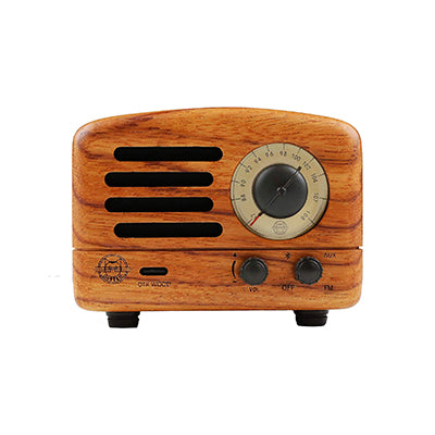 Rosewood Portable Wireless Radio and Bluetooth Speaker